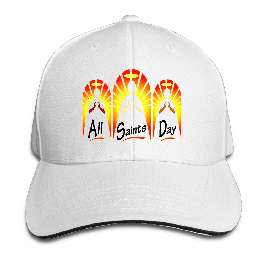 ae51da45bffc0 Friday Fire Happy All Saints Day! Sandwich Hats Baseball Cap Hat Snapback  Hat Dad Hat at Amazon Women s Clothing store