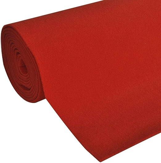 Vidaxl Roter Teppich 1x5m 400g M Vip Läufer Event Teppich Hochzeitsteppich