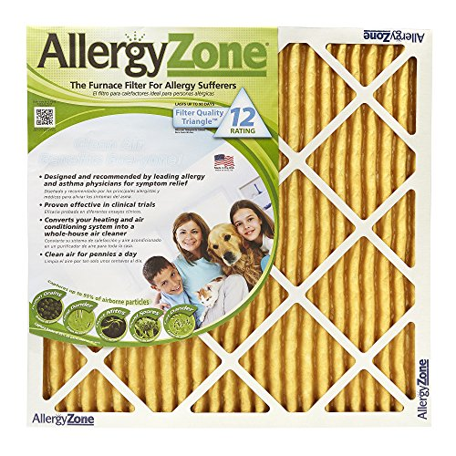 AllergyZone Allergen-Trapping Central Heating and Airconditioning Filters 2-pack (six-month supply)