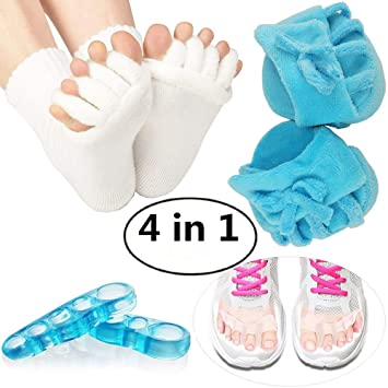 Amazon.com : Relief of bursitis toe separator and toe ...