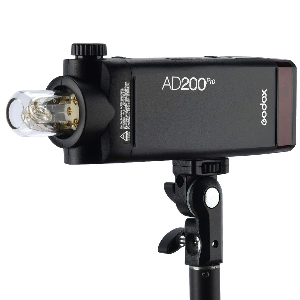 Godox AD200Pro 200ws 2.4G TTL Speedlite Flash Strobe 1/8000 HSS Monolight,500 Full Power Flashes, 2900mAh Battery,0.01-2.1s Recycling, Bare Bulb/Speedlite Fresnel Flash Head (AD200 Upgrade Version) by Godox (Image #5)