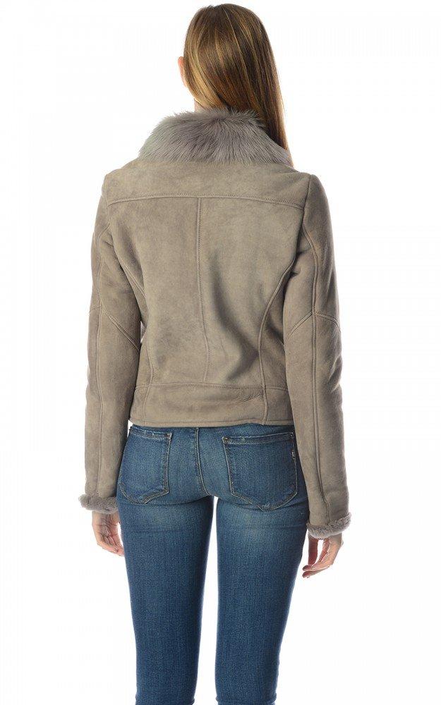 Hugo Boss Black Women's Leather Jacket LE959 50247396 ...