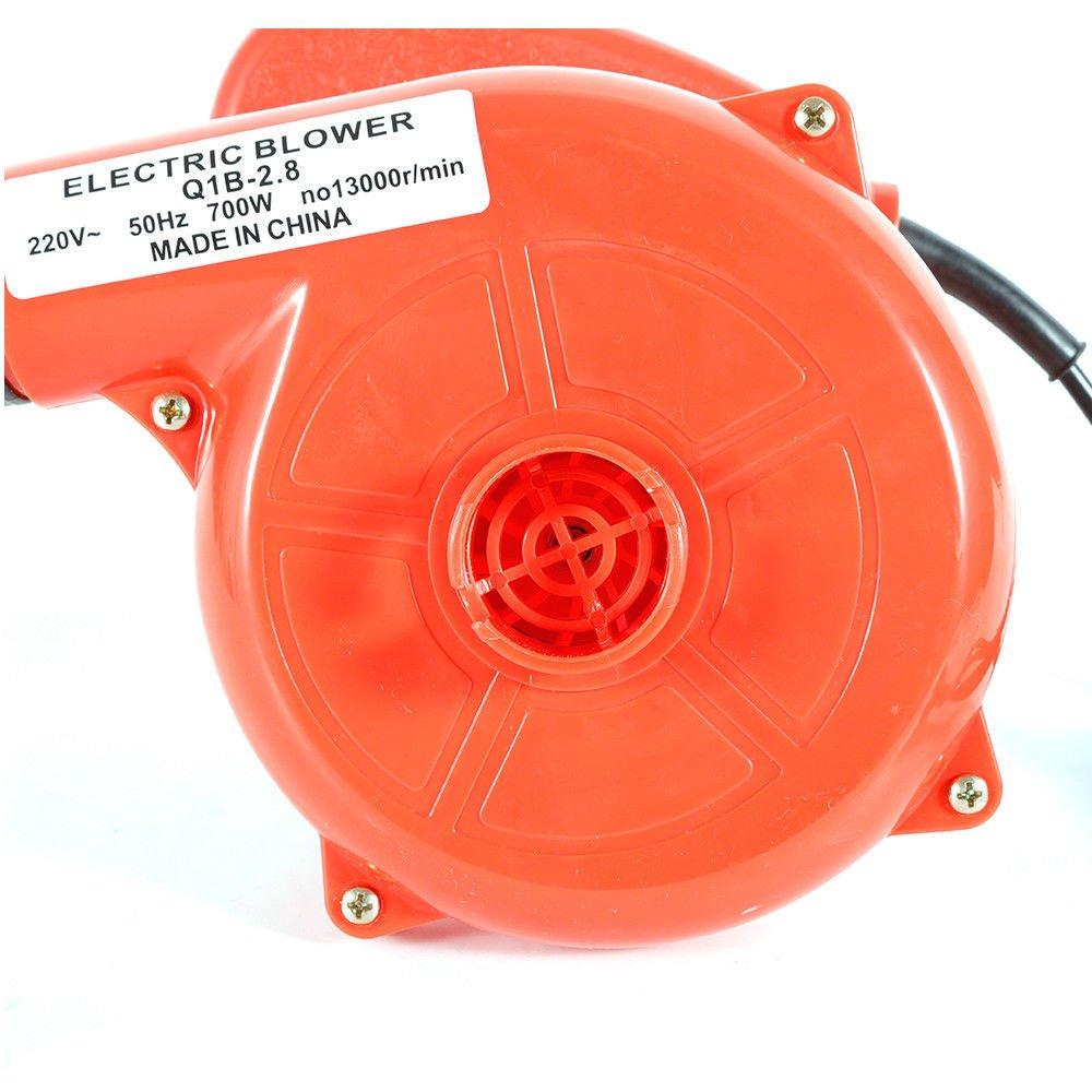 LiFuJunDong Yarda el/éctrica 220V del jard/ín del Polvo del Coche del Ordenador de Mano del Ventilador del soplador el/éctrico 700W