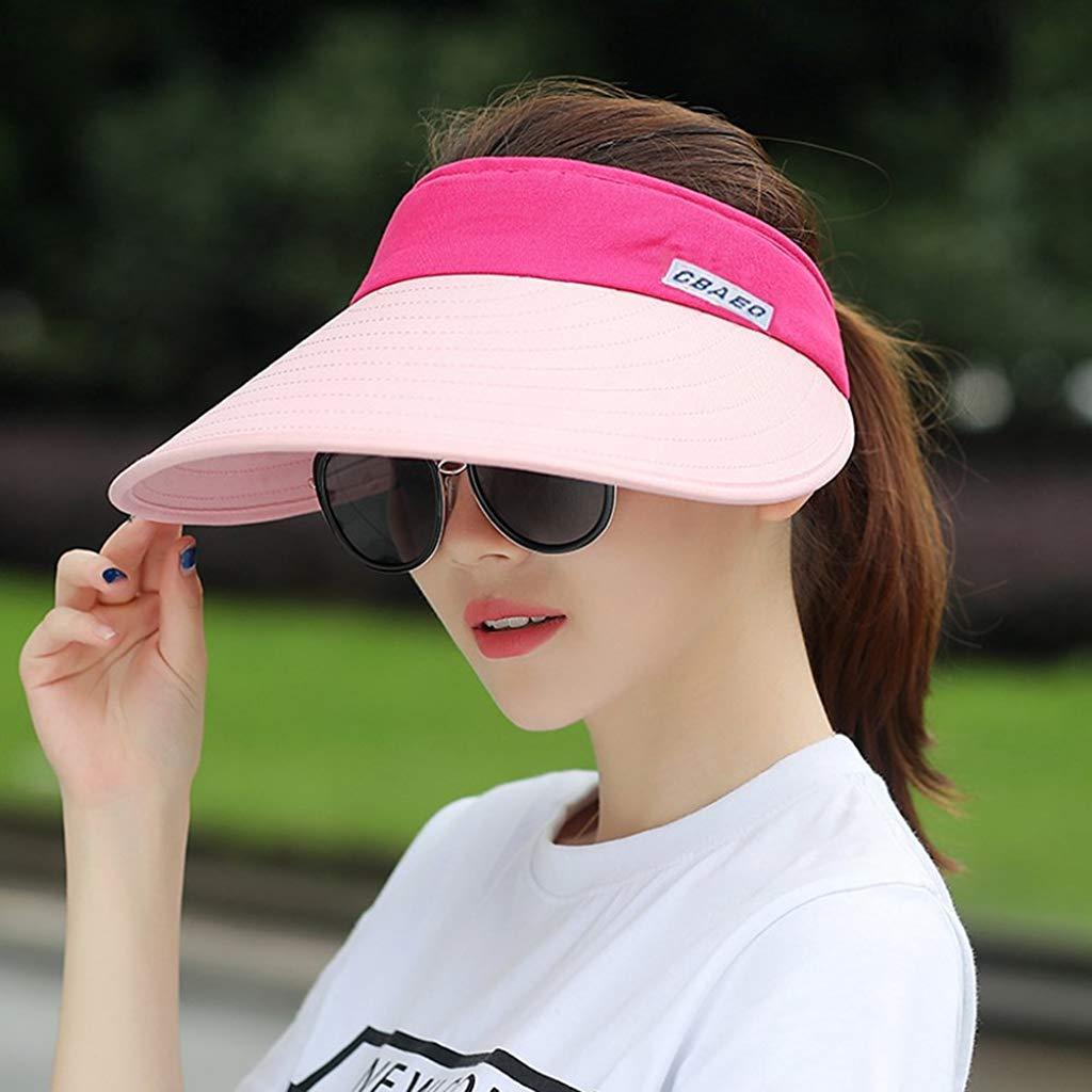 CAMOLAND Large Brim Sun Visor Hats Women $12.74 Coupon