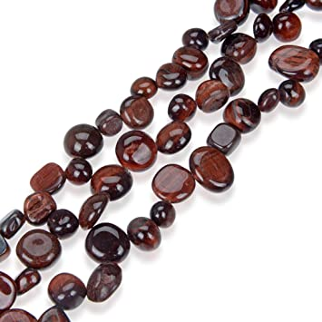 Pretty Natural 6mm 12mm Red Ruby Gemstone Round Beads Long Necklace 18-36/'/' AAA
