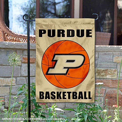 College Flags and Banners Co. Purdue Boilermakers Basketball Garden Flag