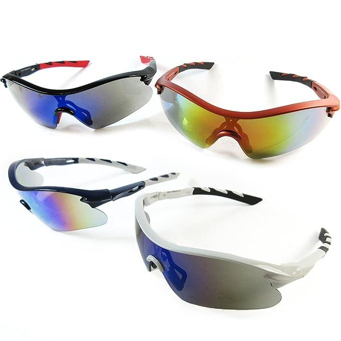 83d0078eb61f0 Amazon.com  1 Polarized Sports Sunglasses Cycling Glasses Mens UV400 Bike  Driving Lens  Office Products