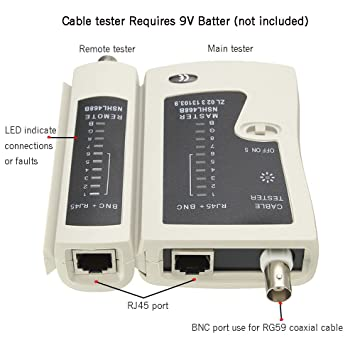 6 juegos Red Cable Herramienta Kit - matgo doble herramienta de cortador de Crimpadora Modular RJ45 RJ12 RJ11, herramienta de perforación, Ethernet Cable ...
