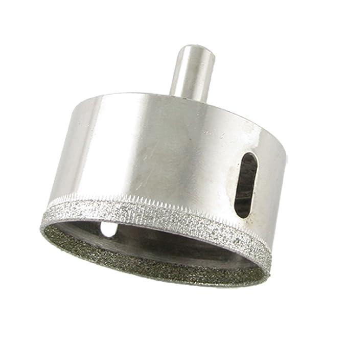 4 opinioni per Sourcingmap argentato vetro trapano con punta diamantata sega a tazza, 50mm