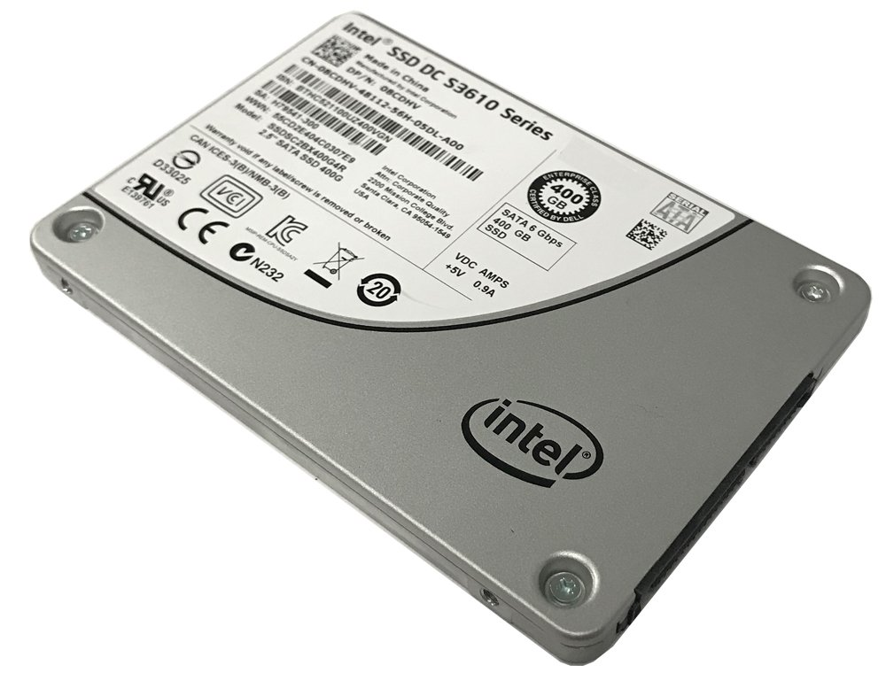 Intel DC S3610 Series SSDSC2BX400G4 400GB 2.5-inch 7mm SATA III MLC (6.0Gb/s) Internal Solid State Drive (SSD) - (Certified Refurbished) w/3 Year Warranty