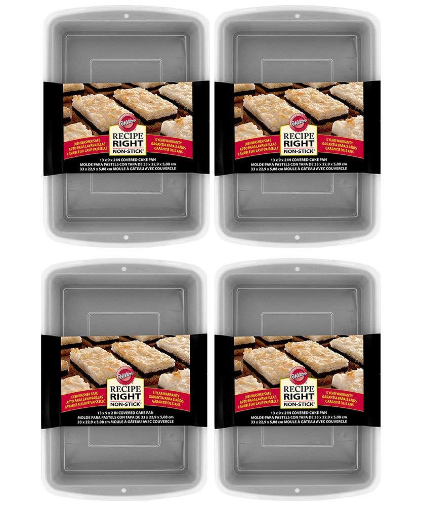 Amazon.com: Wilton Recipe Right Non-Stick Pan, 9 x 13 Inch (4 Sets): Kitchen & Dining