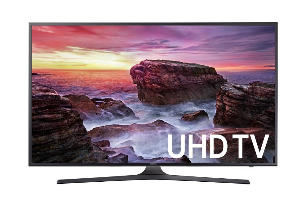 Samsung Electronics UN55MU6290 55-Inch 4K Ultra HD Smart LED TV (2017 Model)