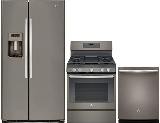 Amazon.com: GE 3 Piece Kitchen Appliance Package with ...