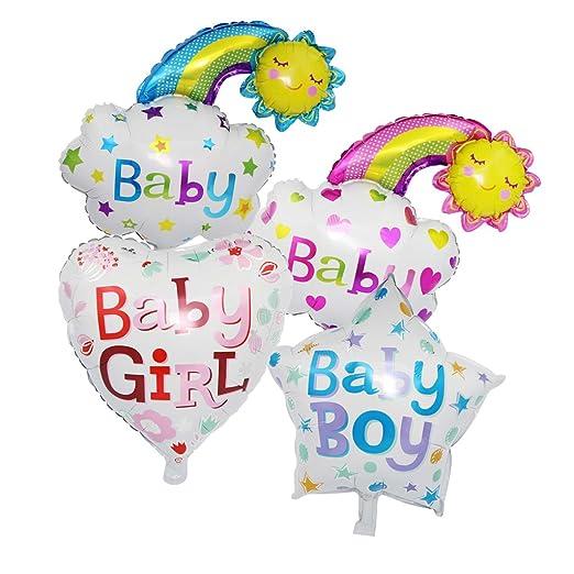 Prettyia 4pcs Baby patrón globo aluminio globo Baby Party ...