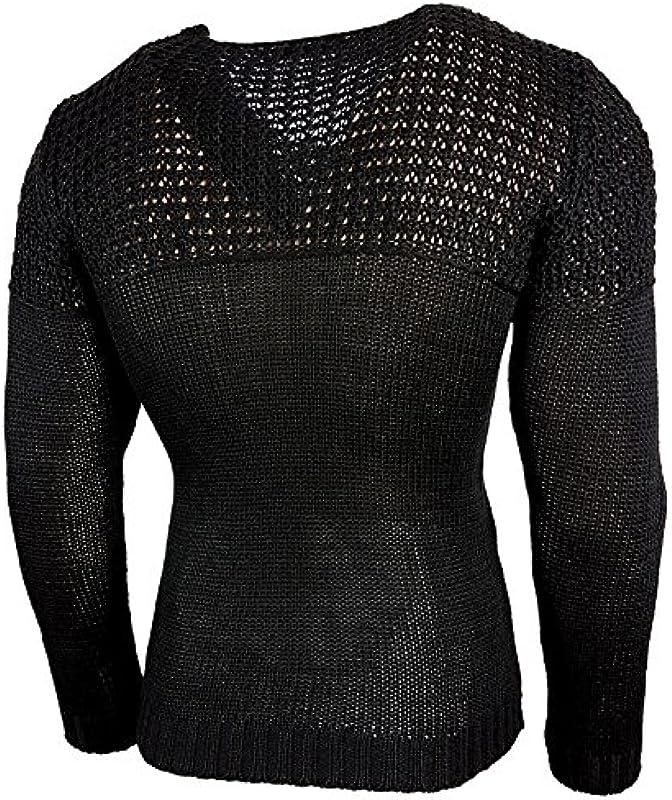Męski sweter sweter dziergany Chunky baxboy Sweatshirt do robienia na drutach pulower f-6250: Odzież
