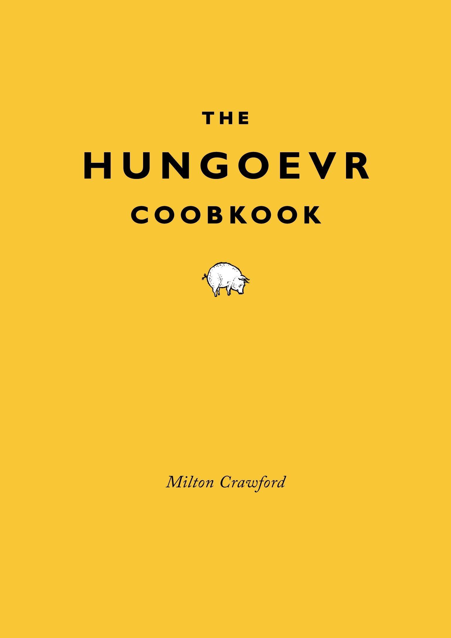 Hungover Cookbook Milton Crawford