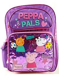 Backpack - Peppa Pig - Peppa Pals Pink Large School Bag New 117331