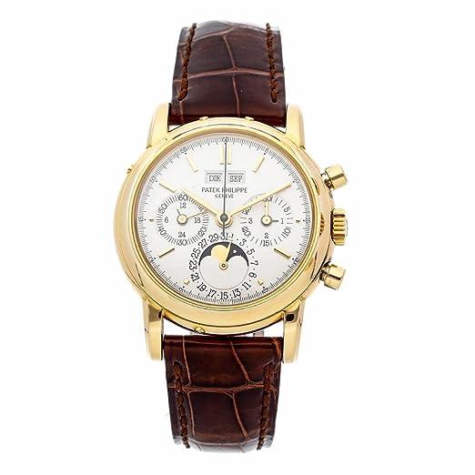 Patek Philippe Grand Complications - Reloj mecánico de mano para hombre, 3970J (certificado de