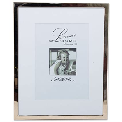 Amazon.com - Lawrence Frames 710680 5 by 7-Inch Silver Standard ...
