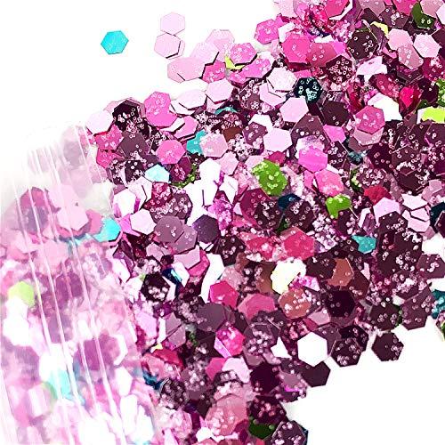 10g/Bag Festival Glitter Mixed Eyeshadow Make Up Glitter Mermaid Christmas Halloween Beauty Face/Body/Hair/Nail Cosmetic Glitter,12