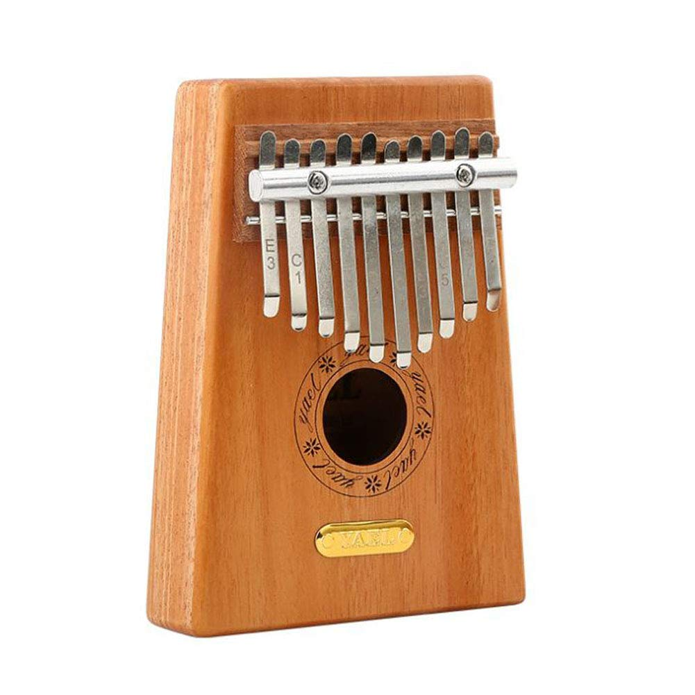 LVSSY-Wooden Thumb Piano,Finger Piano with Study Instruction and Tune Hammer Wood Finger Piano,A by LVSSY