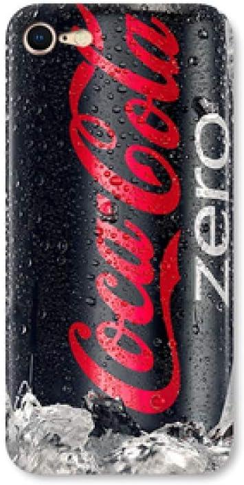 MYing Coca-Cola iphone8 / 6splus Modelos de Silicona 5s Personalidad Modelos Femeninos creativos iphone6 / 7plus Funda para teléfono móvil-Black Cola i7 / i8: Amazon.es: Hogar