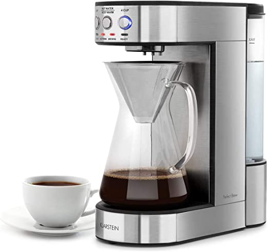 Klarstein Perfect Brew cafetera de filtro con cabezal giratorio ...