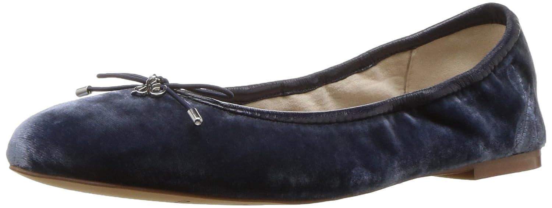 Sterling bleu velours 8 B(M) US Sam Edelhomme Felicia, Coupe fermées Femme