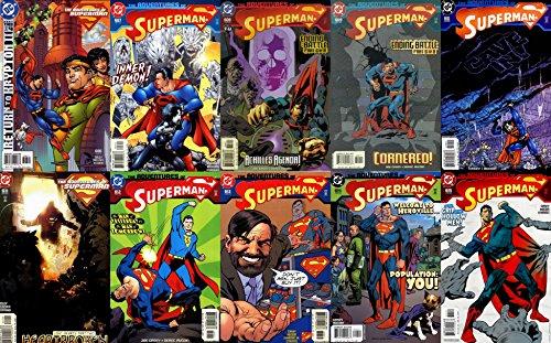 Adventures of Superman #606-615 (1987-2007) Complete Limited Series DC Comics - 10 Comics