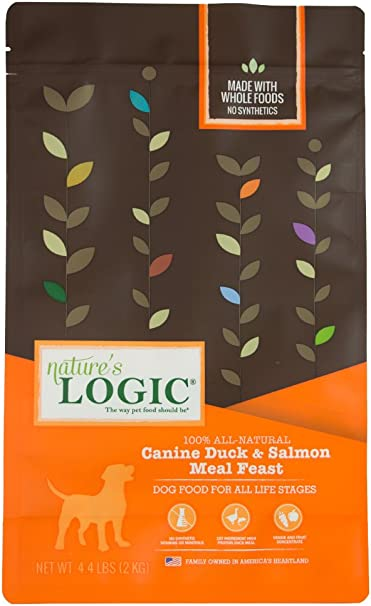 Nature'S Logic Dog Food Canine Meal Feast, Duck & Salmon