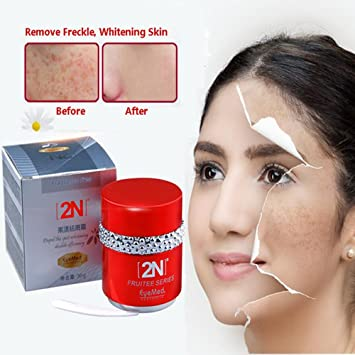 Dark spots on skin removal cream