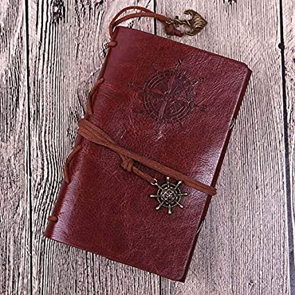 WAJFDAHGA Agenda de cuaderno de diario pirata vintage con ...