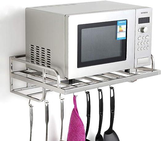 LANGYINH Horno de microondas Estante para Horno de Cocina para ...