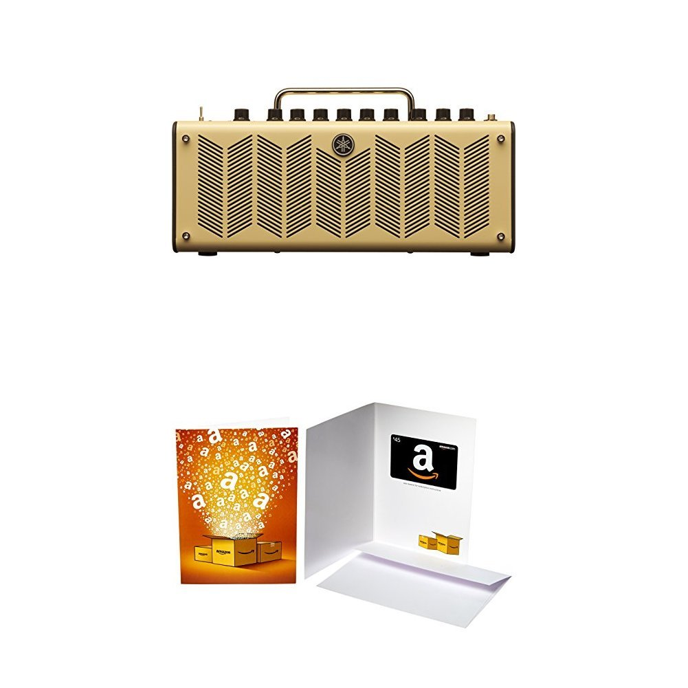 Yamaha THR10 Desktop Guitar Amplifier and Interface with Cubase AI Recording Software with $45 Amazon.com Gift Card
