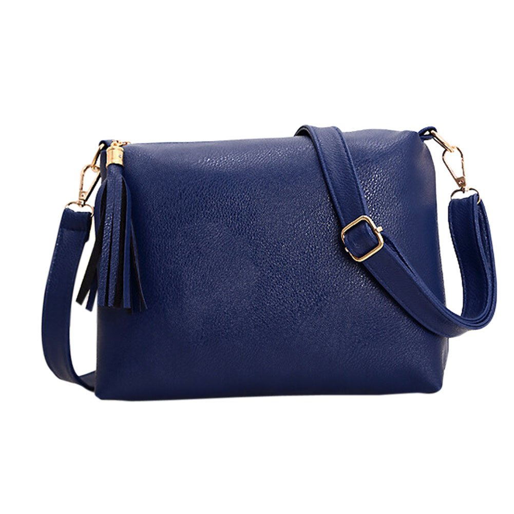 63fb8a02444f Adealink Popular Handbags Mini PU Messenge Bag Small Diagonal Women One  Shoulder Tassel Bags