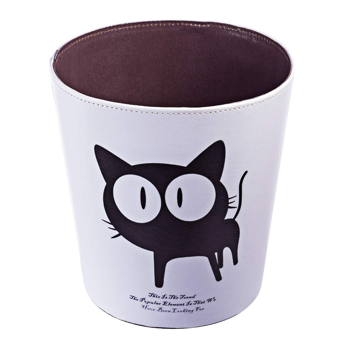Deskside Wastebasket Decorative Farmhouse Garbage Can Vintage Recycling Bin for Office RuiyiF Trash Can for Kids Room Bedroom Bathroom Kitchen Without Lid