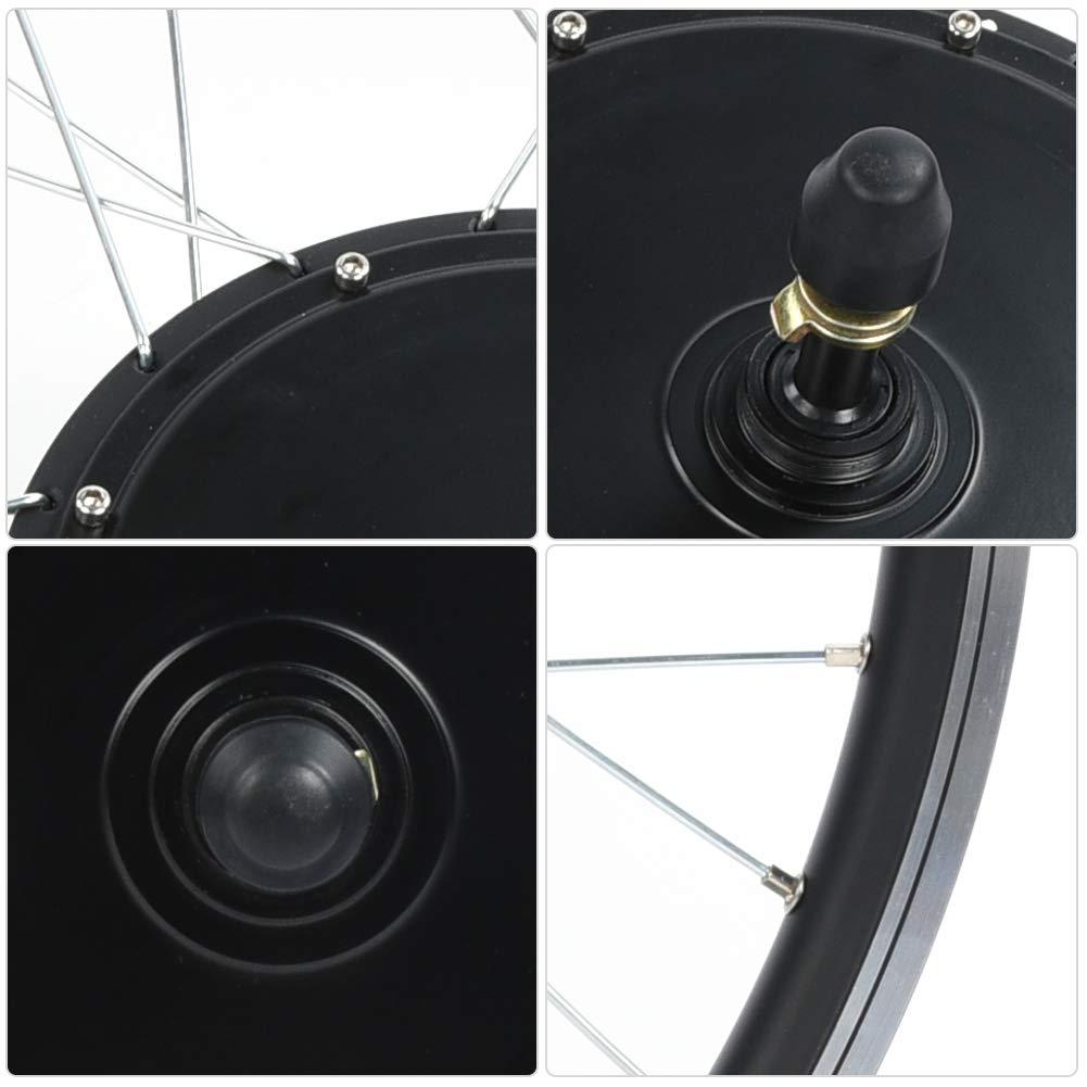 Rueda 700C 48V 1500W El/éctrica Bicicleta Conversi/ón Kit El/éctrica Bicicleta Motor Kits Potente Controlador con Medidor KT-LCD5 Cable Impermeable Focket Kit de Bicicleta de Monta/ña