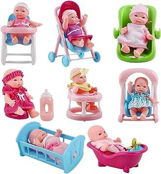 GIOCATTOLI per bambini bambola con vasca da bagno piccolo Set piccola bambola in vasca