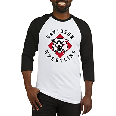 27fb3c6c Amazon.com: CafePress - Davidson Wrestling - Cotton Baseball Jersey, 3/4  Raglan Sleeve Shirt: Clothing