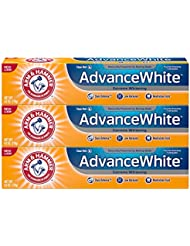 Arm & Hammer Advance White Extreme Whitening with Stain Defense, Fresh Mint, 6 oz, 3 Count (Packaging May Vary)