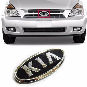 Kia Logo Frontal capucha Grille Emblem para Kia 2006 - 14 Sedona Sportage OEM Partes: Amazon.es: Coche y moto