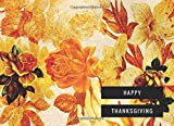 Welcome your guests with this wonderful keepsake to preserve memories of your Thanksgiving each year!                     Details:                           100 pages of acid-free, pure white thick (55lb) paper to minimize in...