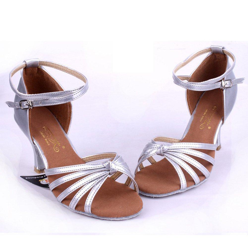 Amurleopard Damen Latein Schuhe 5cm Absatz