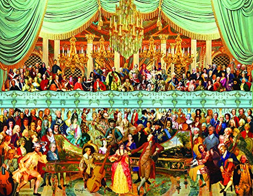 Sunsout 2019 18th Century History 1000 Piece Collage Jigsaw Puzzle ()