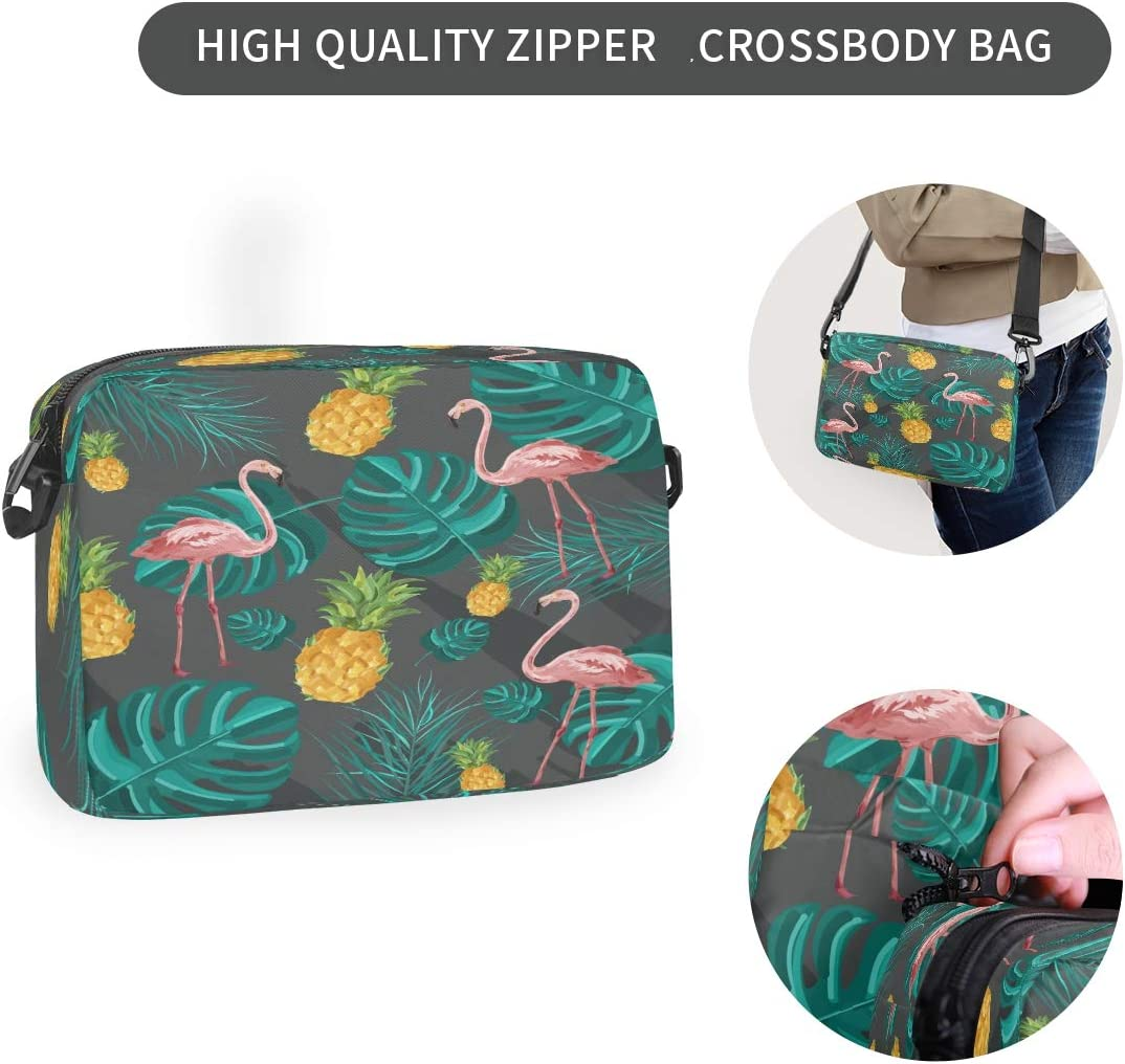 Laptop Backpack Lightweight-Flamingo Leaves Travel Casual Daypack Computer Bag for Women Men College Students