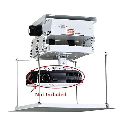 Soporte de proyector eléctrico de 100 cm. Elevador de proyector ...
