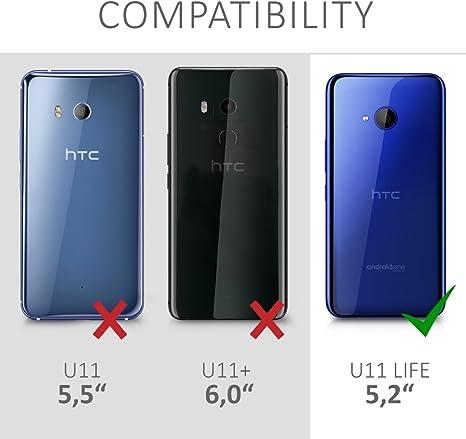 kwmobile Funda Compatible con HTC U11 Life: Amazon.es: Electrónica