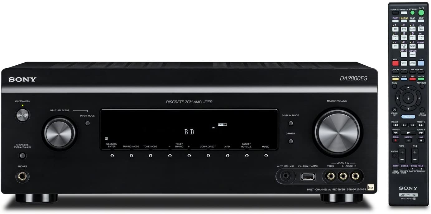 Sony STR-DA2800ES 7.2 Channel 4K AV Receiver with Automation