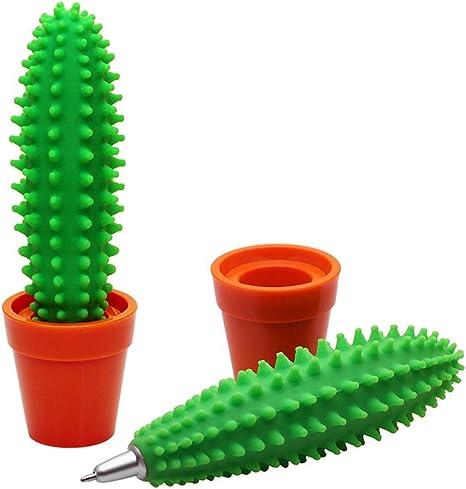 Dosige Bol/ígrafo Cactus Creativos Papeler/ía para Estudiantes Escuela Papeler/ía de Oficina 1pcs