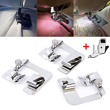 Amazon Euone 🦄 Machine Presser Foot Clearance 40PC Rolled Hem Extraordinary Brother Sewing Machine Presser Foot Tension